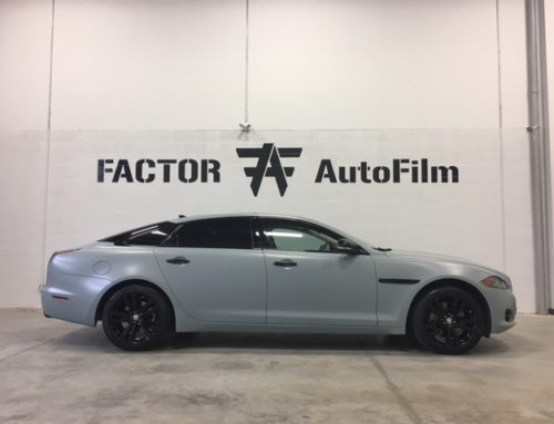 2013 Jaguar XJL Full Color Change Wrap