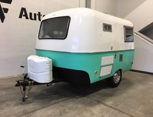 1971 13ft Boler Trailer Full Color Change Wrap