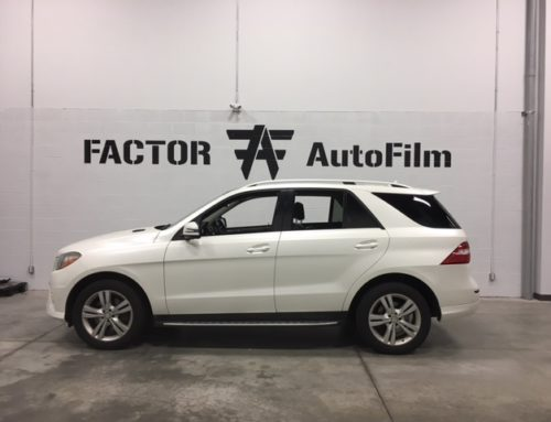 2012 Mercedes Benz ML350 Full Color Change Wrap